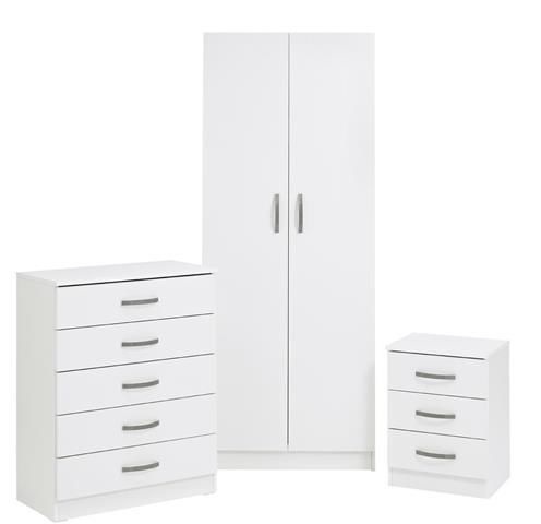Budget Wardrobe Set White