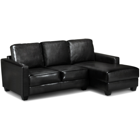Carla Corne Sofa 1 Black