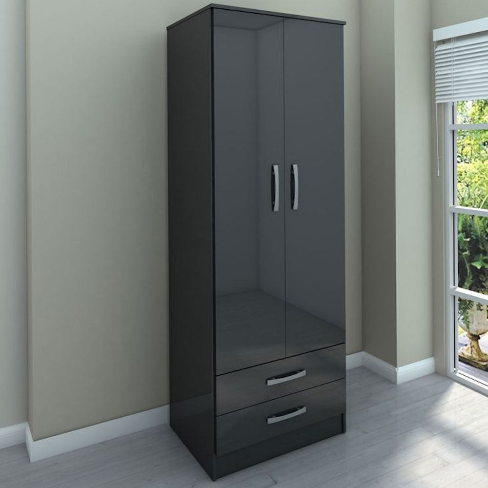 Two Door Combi Wardrobe