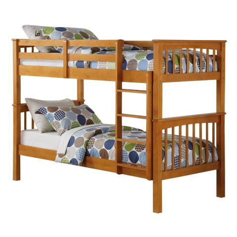 Bunk Bed In Natural Pine 1